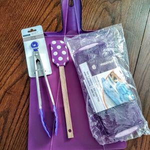 Variety of Purple Kitchen Gadgets New